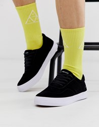 Huf Cromer 2 Suede Trainers In Black