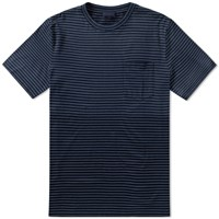 Lanvin Stripe Pocket Tee Blue