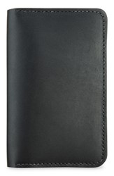 Red Wing Shoes Leather Passport Wallet Black
