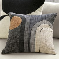 Cb2 Dream 18'' Pillow With Feather Down Insert