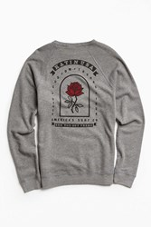 Katin Rose Crew Neck Sweatshirt Grey