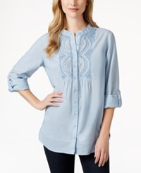 Styleandco. Style And Co. Embellished Bib Tunic Top Only At Macy's