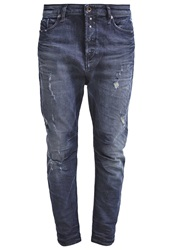 Diesel Eazee Relaxed Fit Jeans 0844T Destroyed Denim