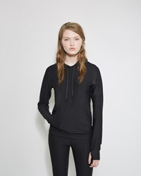 A.P.C. X Outdoor Voices Running Hoodie Black