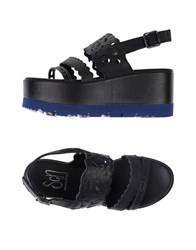 Giancarlo Paoli Sgn Sandals Black