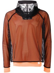 Adidas By Kolor Layered Fishnet Sports Top Black