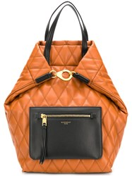 Givenchy Quilted Backpack Brown