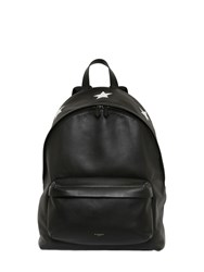 Givenchy Printed Embossed Stars Leather Backpack