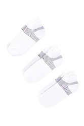 Z By Zella Back Tab Sport Socks Pack Of 3 White