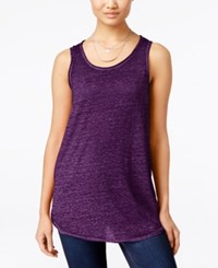 Inc International Concepts Tank Top Only At Macy's Purple Paradise