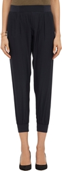 Atm Anthony Thomas Melillo Silk Sweatpants Black