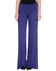 Fisico Cristina Ferrari Casual Pants Purple
