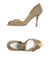 Guess By Marciano Sandals Platinum