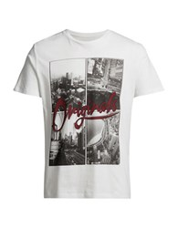 Jack And Jones Jorsway Graphic Tee Cloud Dancer