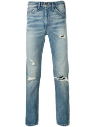 Levi's Vintage Clothing Slim Fit Ripped Jeans Blue