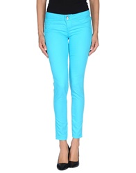 Jcolor Denim Pants Turquoise
