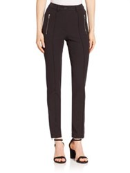 Michael Kors Zip Pocket Skinny Pants Black