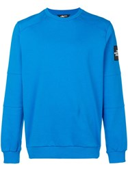 The North Face Fitted Sweatshirt Blue