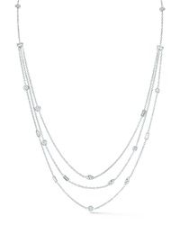 Mixed Cut Multi Strand Diamond Necklace Ivanka Trump