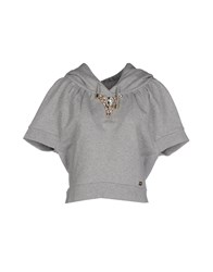 Relish Topwear Sweatshirts Women Light Grey