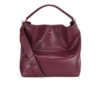 Paul Smith Accessories Women's Leather Hobo Bag Burgundy