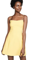 Likely Carter Dress Yellow Chrome