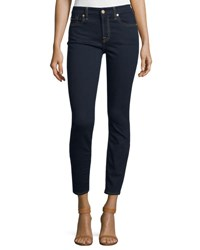 7 For All Mankind The Ankle Skinny Jeans B Air Rinsed Indigo B Air Rinsed Ind