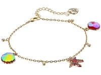 Betsey Johnson Starfish And Seashell Anklet Coral Bracelet