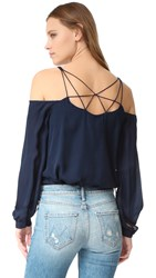 Haute Hippie Crossroads Top Midnight