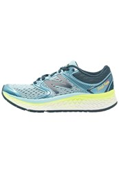 New Balance W1080by7 Neutral Running Shoes Blue Pink