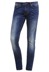 Superdry Slim Fit Jeans Brighton Blue Blue Denim