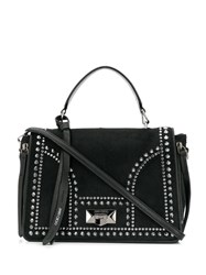 Jimmy Choo Helia Top Handle Tote Black