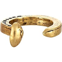 Giles And Brother Railroad Spike Ring Brass