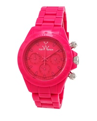 Toywatch Monochrome Shocking Pink Plasteramic Watch