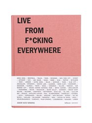 Mendo Live From F Cking Everywhere Book Red