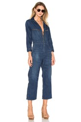 Citizens Of Humanity Sylvie Worker Jumpsuit Blue