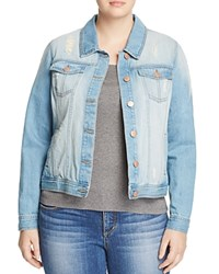 Junarose Makira Denim Jacket Light Blue