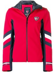 Rossignol Fitted Zipped Jacket Red