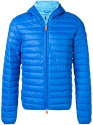Save The Duck D3065m Giga8 Padded Jacket Blue