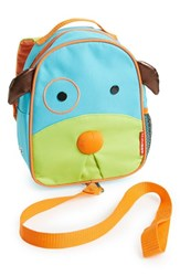 Infant Skip Hop 'Zoo' Safety Harness Backpack Blue