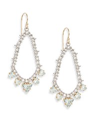 Alexis Bittar Elements Mystic Rivulet Two Tone Crystal And Chrysolite Drop Earrings Gold