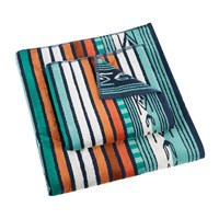 Pendleton Sculpted Towel Aqua Green