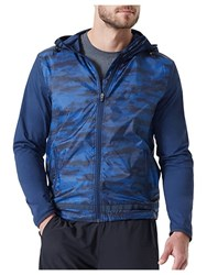 Mpg Camouflage Discover Jacket Blue Camo