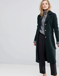 Y.A.S Tailored Coat Green