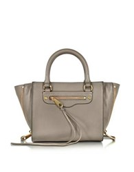 Rebecca Minkoff Side Zip Mini Regan Tote Grey