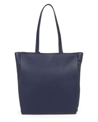 Jaeger Icon Leather Tote Blue