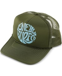 O'neill Juniors' Beach Day Trucker Hat Dusty Olive