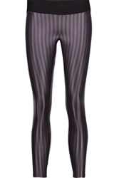 Koral Liquid Textured Stretch Jersey Leggings Purple