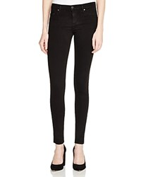 Nobody Geo Skinny Jeans In Power Black