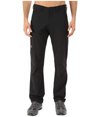 Jack Wolfskin Activate Pants Tall Black Men's Casual Pants